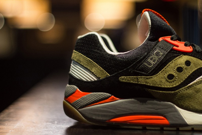 UBIQ x Saucony Grid 9000 Dirty Martini