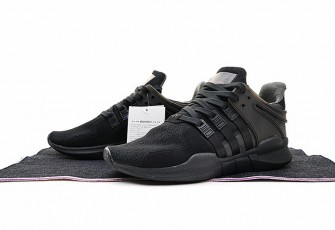"Adidas EQT Support ADV Primeknit  ""Black-Core"""