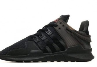 "Adidas EQT Support ADV Primeknit ""Black-Turbo"""
