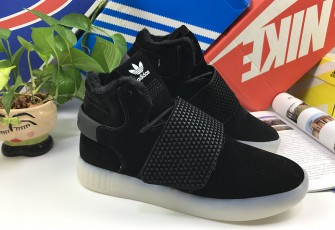 "ADIDAS TUBULAR INVADER ""BLACK/WHITE"""