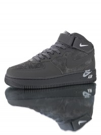 "Nike Air Force 1 Mid '07 "" Dark Grey"" 315123-048"