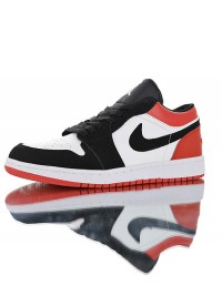 "Nike Air Jordan 1 low ""Black Toe"" 553558-116"