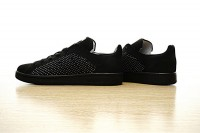 "Adidas Originals Stan Smith Primeknit ""All_Black"" S80065"