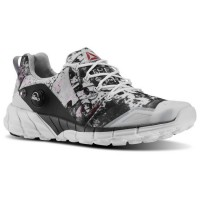 Reebok ZPump Fusion 2.0 Steel _Running - White_Black_Coal