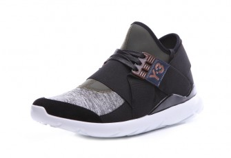 "Adidas Y-3 Qasa Elle Lace ""Night Cargo Black White"""