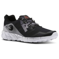 Reebok ZPump Fusion 2.0 Coal_Steel_Silver Met_White_Black