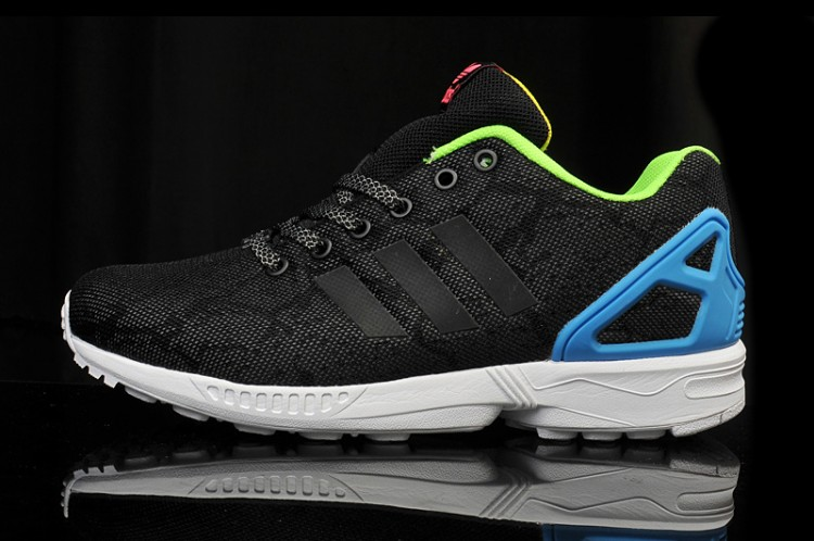Adidas ZX FLUX Black-Blue
