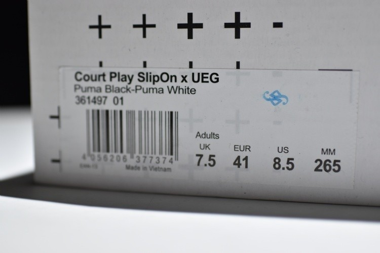 PUMA x UEG COURT PLAY SLIPON X UEG