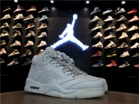 "Nike Air Jordan 5 ""Pure Platinum"" 881432-003"