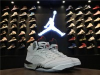 "Nike Air Jordan 5 ""White Cement"" 136027-104"