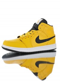 Nike Air Jordan 1 Mid SE 'Lakers' 554724-700