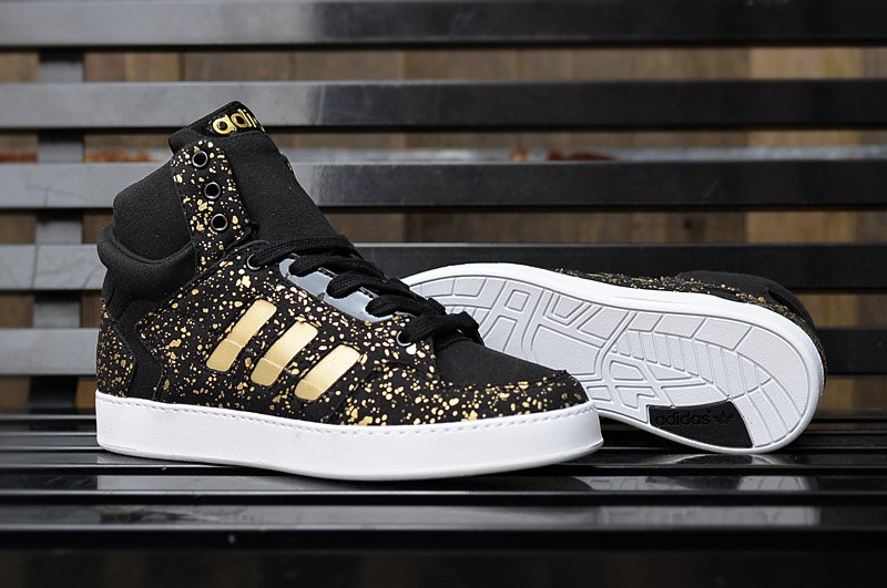 Adidas High Top Skateboarding Shoes