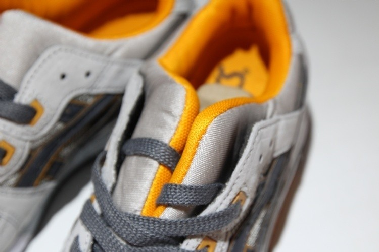 ASICS Gel-lyte III gray orange H635L-1190