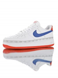"Nike Air Force 1 Low ' 07 ""Overbranded White Royal Red"" CD7739-100"