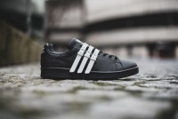 "Adidas Originals Stan Smith Strap x Raf Simons ""Core Black_Vintage White"""