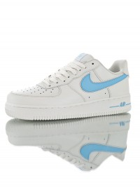 "Nike Air Force 1 Low '07 ""White Blue"" AO2423-100"