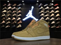 "Nike Air Jordan 1 Retro High OG ""Wheat"" 555088-710"