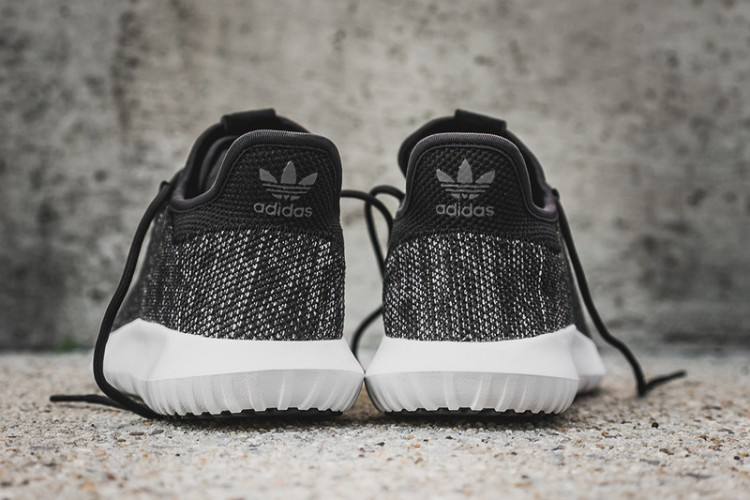 "ADIDAS TUBULAR SHADOW KNIT  ""Black White"""