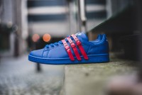 "Adidas Originals Stan Smith x Raf Simons ""Collegiate Royal Power Red"""