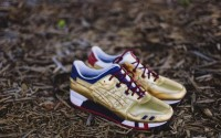 Asics Gel Lyte III KFE Kith Football Equipment USA Gold H41JK-9494