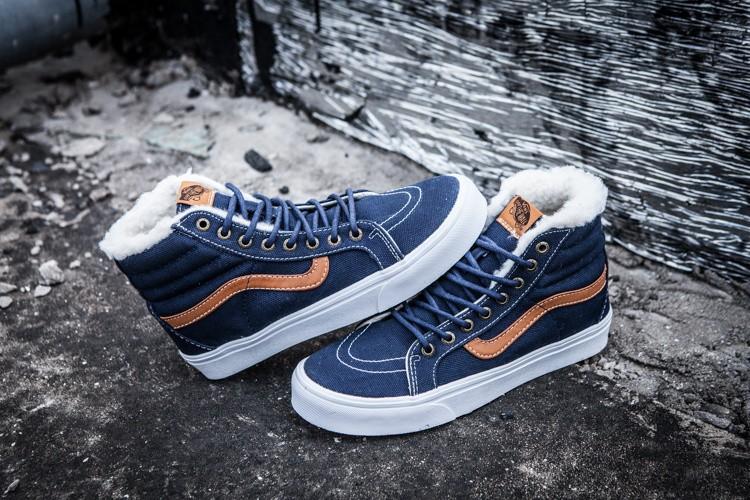 Купить кеды обувь Зимние Vans Old skool school венс вэнс олд скул для зимы  с мехом на меху доставка по РВ 468aee0ebaf