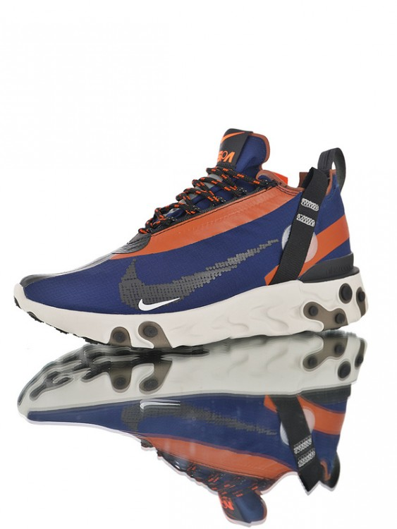"Nike React Runner Mid WR ISPA ""Navy"" AT3143-400"