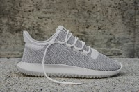"ADIDAS TUBULAR SHADOW KNIT ""White Grey"""