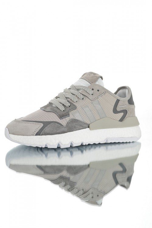 Adidas Nite Jogger Boost ss19 CG7090 - Серые