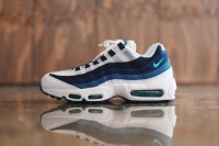 Nike air max 95 OG White-French Blue-Lake Blue-New Green