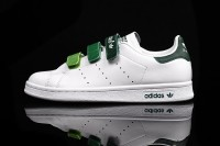 "Adidas Originals Stan Smith CF ""White_green_gradient"" AQ5356"