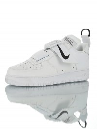 "Nike Air Force 1 Utility QS ""White Black"""