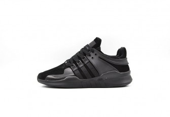"Adidas EQT Support ADV Primeknit  ""All Black"""