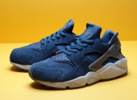 "NIKE AIR HUARACHE RUN ULTRA ID ""Force Blue"" 318429-403"