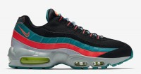 "Nike air max 95 essential ""Black- Wolf GREY Radiant Emerald"""