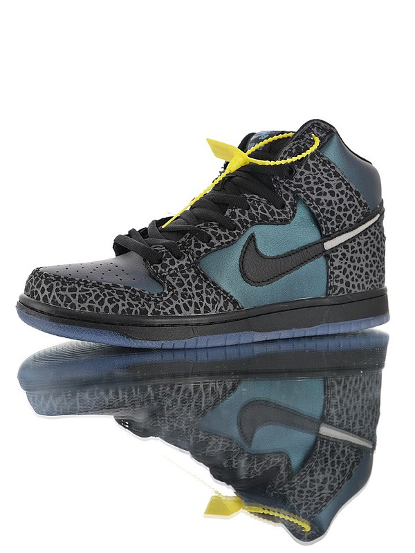 "Black Sheep x Nike SB Dunk High ""Black Hornet"""