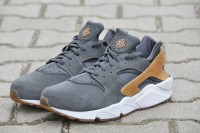 "NIKE AIR HUARACHE RUN ULTRA ID ""Anthracite Brown"" 318429-09"