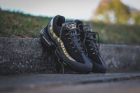 "Nike air max 95 Premium ""Black-Metallic Gold"""
