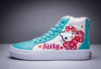 Vans Old skool X Hello Kitty