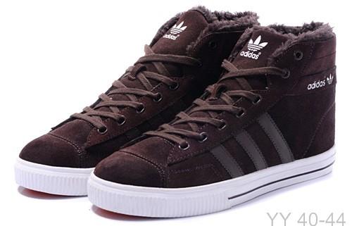 81fef3306 Зимняя мужская обувь на меху Adidas Winter Hi Models Купить адидас с мехом  внутри