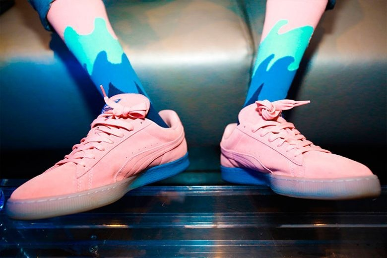 Puma X Pink Dolphin Suede Classic